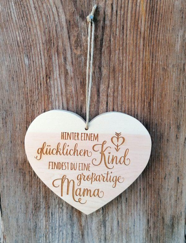 Herz mit Spruch